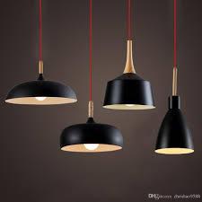 contemporary pendant lighting fixtures. discount modern pendant light nordic style suspension luminaire hanging lamp vintage rustic wood aluminium lampshade island contemporary lighting fixtures l