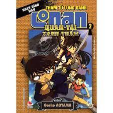 Truyện tranh Conan hoạt hình màu: Quan tài xanh thẳm bộ 2 tập-NXB Kim Đồng