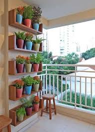tiny garden ideas to dress up your balcony