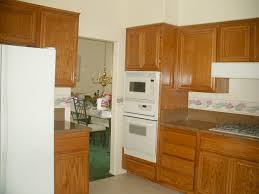 Refinishing Oak Kitchen Cabinets Before And After Kitchen Island