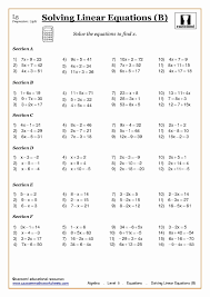 solving exponential equations worksheet with answers algebra with cazoom maths