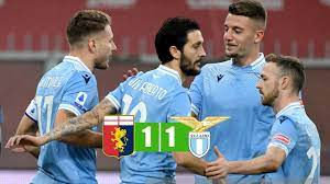 Genoa vs Lazio 1-1 All Goals & Highlights 03/01/2021 - YouTube