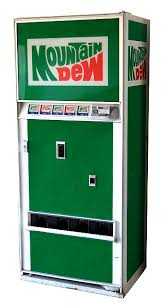 Vintage Mountain Dew Vending Machine