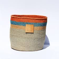 Kiondo Baskets handwoven in Kenya