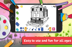 A wide variety of train coloring book options are available to you, such as printing type, product material. App Drawing Coloring Thomas Train Friends By Fans 2 4 7 Apk Androidappsapk Co