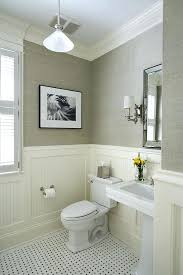 chair rail molding ideas despite the neutral colors this room is full of texture including the bathroom chair rail molding panels and gray chair rail