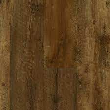armstrong luxe farmhouse plank rugged brown 8mm x 7 x 48 with rigid core a6415
