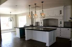 white kitchen pendant lighting. Black And White Kitchen Decoration Using Large Ball Clear Glass Modern Pendant Lighting S