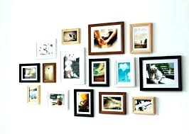 wall frame collages picture collage ideas wood photo wooden multi template