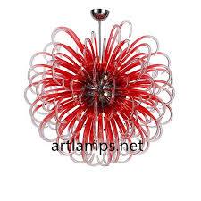 hand blown glass pendant lamp blown glass chandelier fixtures 1
