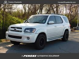 2005 Used Toyota Sequoia 4dr Limited at Toyota of Fayetteville ...