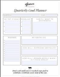 How To Review Your Quarterly Goals A Quarterly Review Plan