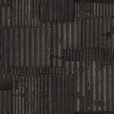 347617 wallpaper industrial metal corrugated sheets black