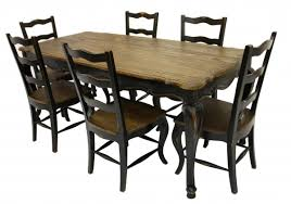 pretentious country french dining table 21
