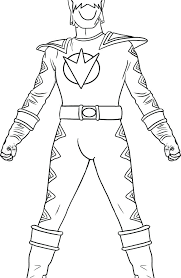 Mighty Morphin Power Rangers Coloring Pages At Getdrawingscom