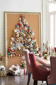 Decorating for the holidays :: Creative ways to use ornaments when you  don't have a tree