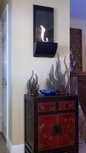 torcia wall mount fireplace ethanol wall torch