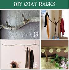 Tree Limb Coat Rack 100 DIY Coat Rack Ideas Tip Junkie 81