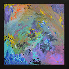 environmental artist apollo abstraction of the soul 2018 original painting acrylic 24