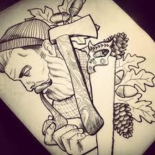 wood tool tattoos. about wood tattoo on pinterest | tree thigh nature tattoos . tool