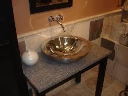 Small Bathroom Basins Inspiring Design For Bathroom Vessel Sink Ideas Trough Style