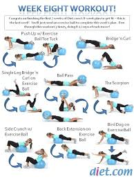 Free Exercise Ball Chart Get Yourself In The Best Shape Of Your Life With Www Gymra