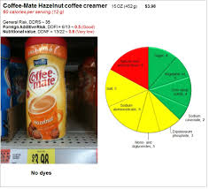 coffee mate risk and nutrition