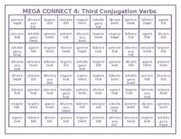 Latin Verb Conjugation Chart Translation Latin Verb Tenses Worksheets Teaching Resources Tpt