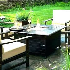 small tabletop gas fire pits round table pit insert tables propane sma
