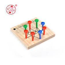 Wooden Peg Board Game Christmas Wooden Triangle Peg Board Game Buy Peg GameTriangle 95