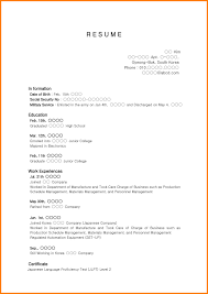 7 High School Resume Sample No Experience Pear Tree Digital