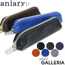 aniary pen case accessory real leather writing box fastener antique leather men s las 01 20017