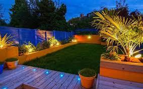 Garden lighting design Exterior Garden Lighting Joes Home Improvements Garden Lighting Turn Your Garden Into Nighttime Wonderland