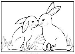 Coloring Bunny Printable Images Free Bag Coloring Pages For Sheets