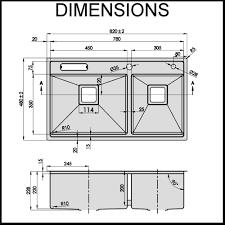 kitchen sink standard size