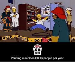 Vending Machine Kills Per Year Inspiration ENTE IT CANDY BUZZ COLA WEIRD FALTS Vending Machines Kill 48 People
