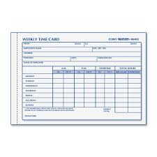 Printable Weekly Time Cards Best Photos Of Printable Time Card Template Free Employee