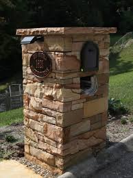 mailbox designs brick Decorative Mailbox Designs for Family Room