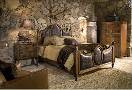 Good Great Stone Wall Idea For Master Bedroom