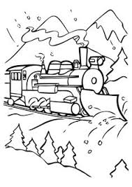 Polar Express Train Coloring Pages Enjoy Coloring Coloring