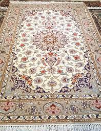 slimi design silk persian rug