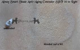 almay smart shade anti aging concealer spf 20 in light review almay smart shade anti aging skintone matching makeup