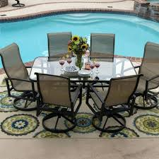 large patio chairs outdoor wood dining table seats sling swivel rocker patio chairs large outdoor dining large patio chairs
