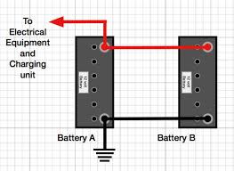 how to connect two batteries in parallel caravan chronicles batteries in parallel equation at Parallel Battery Wiring Diagram