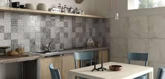 view in gallery kitchen backsplash in grey monochrome patchwork patterns ricchetti