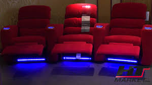red theater chairs. Elite Home Theater Seating For Your Decor Inspiration: Seats Palliser Reverb YouTube Red Chairs