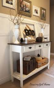 Exellent Antique White Sofa Table The Book On I Love This In Design Ideas