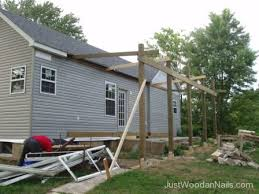 framing a back porch roof