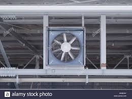 Vent System Fan On Steel Structure For Ventilation System And Air Conditioner