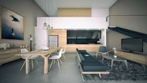 Kitchen Living Room Designs 23 Open Concept Apartment Interiors For Inspiration